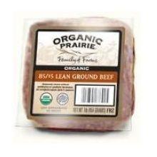 Organic 85 Percent Lean Ground Beef