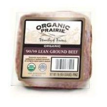 Organic 90 Percent Lean Ground Beef
