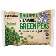 Organic Steamable Green Peas
