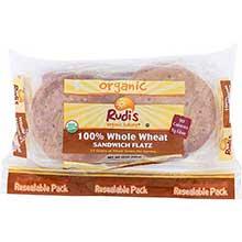 Organic Whole Wheat Sandwich Flat