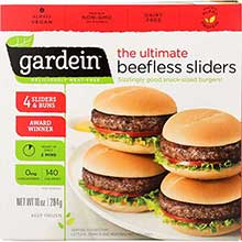 The Ultimate Beefless Slider