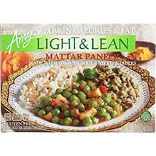 Organic Light and Lean Mattar Paneer Bowl