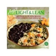Organic Light and Lean Quinoa and Black Bean with Butternut Squash and Chard Bowl