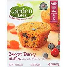 Carrot Berry Veggie Muffin