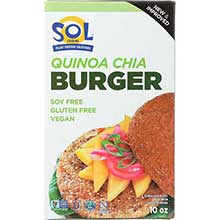 Sprouted Quinoa Chia Burger