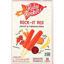 Rock It Red Veggie and Fruit Pops