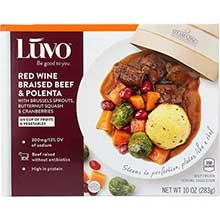 Red Wine Braised Beef and Polenta