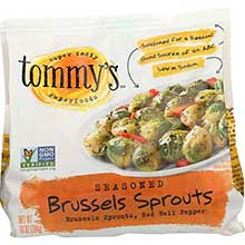 Seasoned Brussels Sprouts