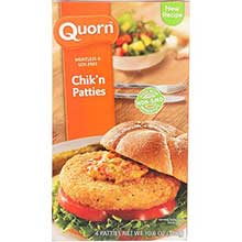 Quorn Foods Meat Free Crispier and Tastier Chicken Patties 10.6 Ounce