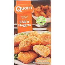Quorn Foods Meat Free Crispier and Tastier Chicken Nuggets 10.6 Ounce