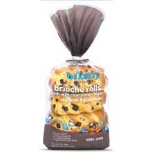 Brioche Rolls with Milk Chocolate Chips