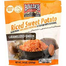 Caramelized Onion Riced Sweet Potato