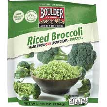 Unseasoned Riced Broccoli