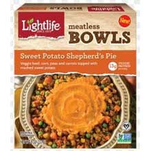 Sweet Potato Shepherds Pie Bowl