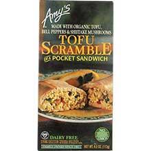 Organic Tofu Scramble Pocket Sandwich
