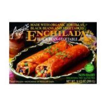 Organic Black Bean Vegetable Enchilada Entree