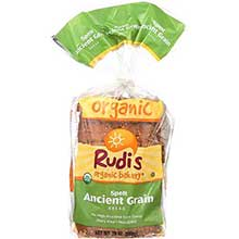 Rudis Organic Ancient Grain Spelt Bread 20 Ounce