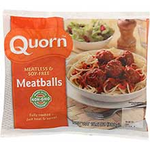 Quorn Foods Meat Free Moist and Tasty Beef Meatballs 10.6 Ounce