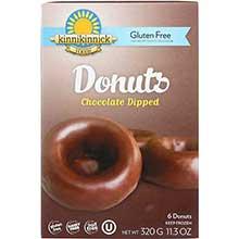 Kinnikinnick Foods Chocolate Dipped Donut 11.3 Ounce