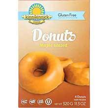 Kinnikinnick Foods Maple Glazed Donut 11.3 Ounce