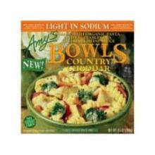 Light In Sodium Country Cheddar Bowl