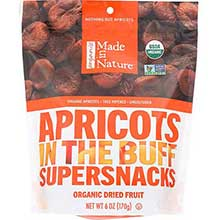 Made In Nature Organic Dried Apricot 6 Ounce