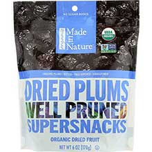 Made In Nature Organic Dried Prune 6 Ounce
