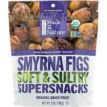 Made In Nature Organic Dried Calimyrna Fig 7 Ounce
