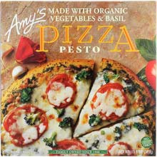 Organic Pesto Pizza