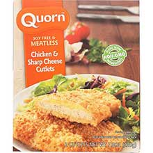 Quorn Foods Gruyere Chicken Cutlet 7.76 Ounce