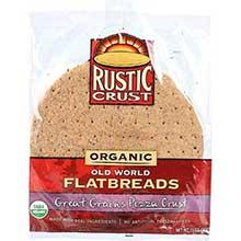 Rustic Crust Organic Old World Grains Pizza Crust 13 Ounce
