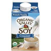 French Vanilla Non Dairy Soy Creamer