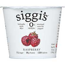 Zero Percent Fat Raspberry Icelandic Yogurt