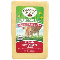 Grassmilk Raw Cheddar Cheese