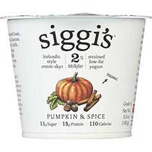 Pumpkin and Spice Icelandic Style Low Fat Strained Yogurt