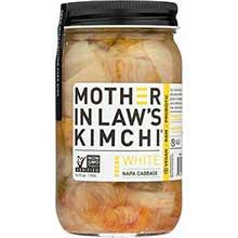 White Vegan Napa Cabbage Kimchi