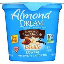 Non Dairy Low Fat Vanilla Yogurt
