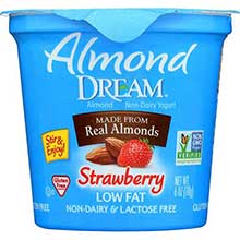 Non Dairy Low Fat Strawberry Yogurt
