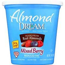 Non Dairy Low Fat Mixed Berry Yogurt