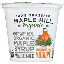 Organic Grass Fed Maple Yogurt