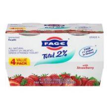 2 Percent Strawberry Fage Yogurt