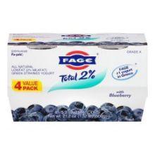 2 Percent Blueberry Fage Yogurt