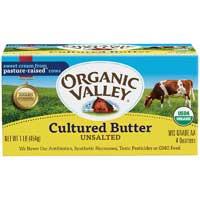 Organic Valley Cultured Butter Stick 16 Ounce