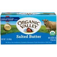 Organic Valley Salted Butter Stick 16 Ounce