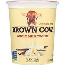 Brown Cow West Cream Top Whole Milk Yogurt