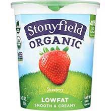 Stonyfield Farm Organic Strawberry Yogurt 32 Ounce