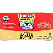 Horizon Organic Salted Butter Four Stick 1 Pound