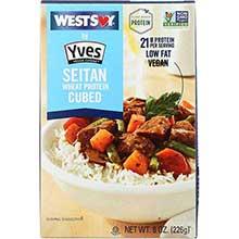 WestSoy Traditional Seasoned Seitan 8 Ounce