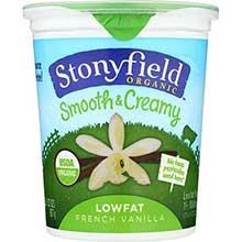 Stonyfield Farm Organic Low Fat French Vanilla Yogurt 32 Ounce