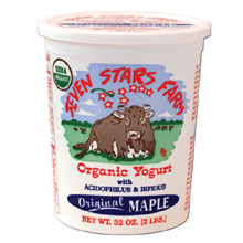 Seven Stars Farm Organic Maple Yogurt